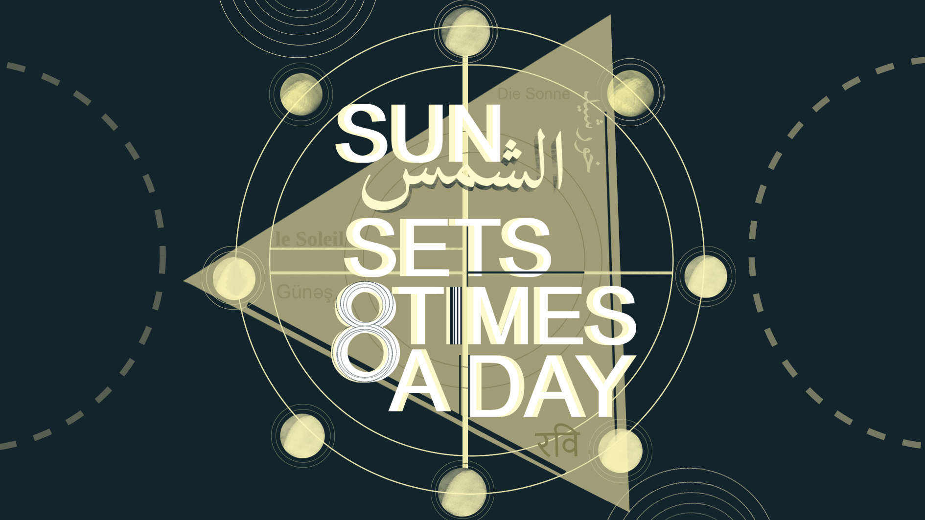 The Sun Sets Eight Times A Day